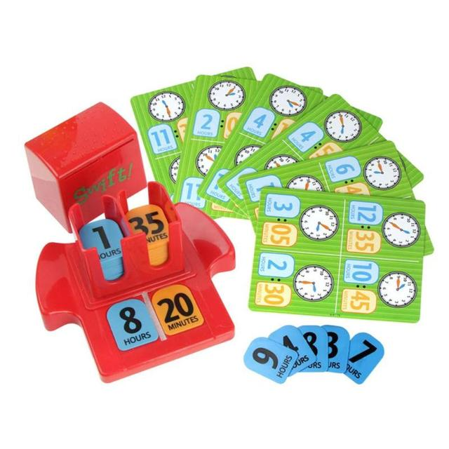 kids toys Early Childhood Education Toy Interactive Clock ...