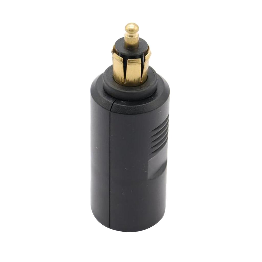 1 Pcs 12V 24V EU Plug For BMW Motorcycle Cigarette Lighter Short Socket Adaptor Converter For Mobile Phone GPS Etc 120W 20A-in Cigarette Lighter from Automobiles & Motorcycles