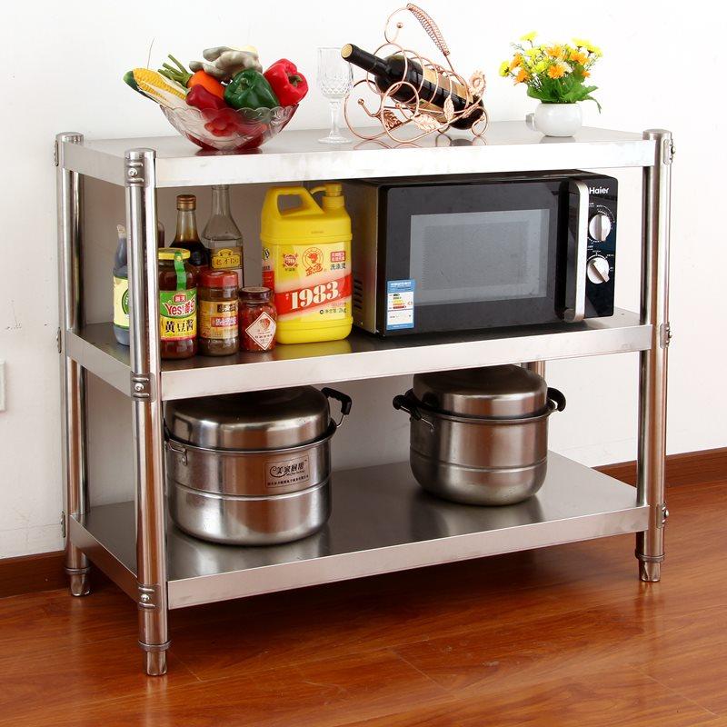 Work Food Prep Table Stainless Steel Kitchen Storage ...