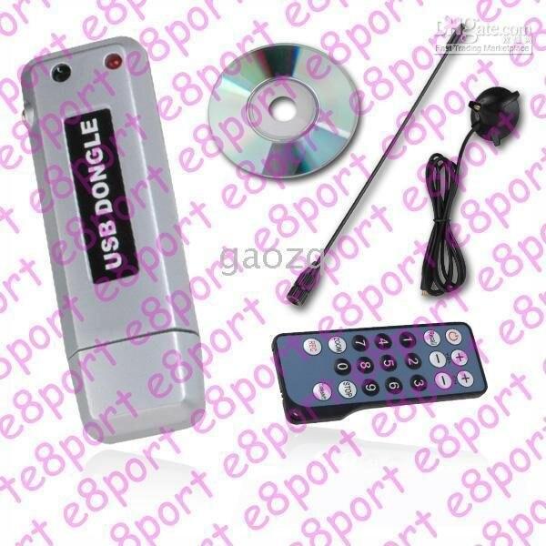 100 PCs NEW 2.0 USB DVB-T TV Stick Digital TV HDTV Receiver