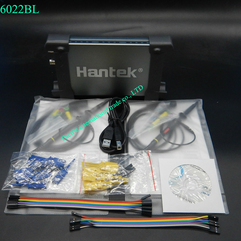 Hantek 6022BL USB Oscilloscope Generator Bandwidth 48 MS a/s Sample Rate 16 Channels Logic Analyzer Logical Analyzer осциллограф hantek 6022be usb storag 2channels 20 48msa s