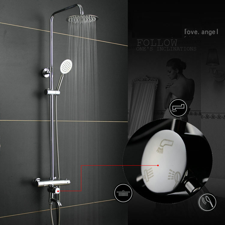 Dofaso all cooper 20cm square rain shower Thermostatic Shower Mixer Set Rainfall Bath Tap thermostatic shower faucet dofaso all cooper 20cm square rain shower thermostatic shower mixer set rainfall bath tap thermostatic shower faucet