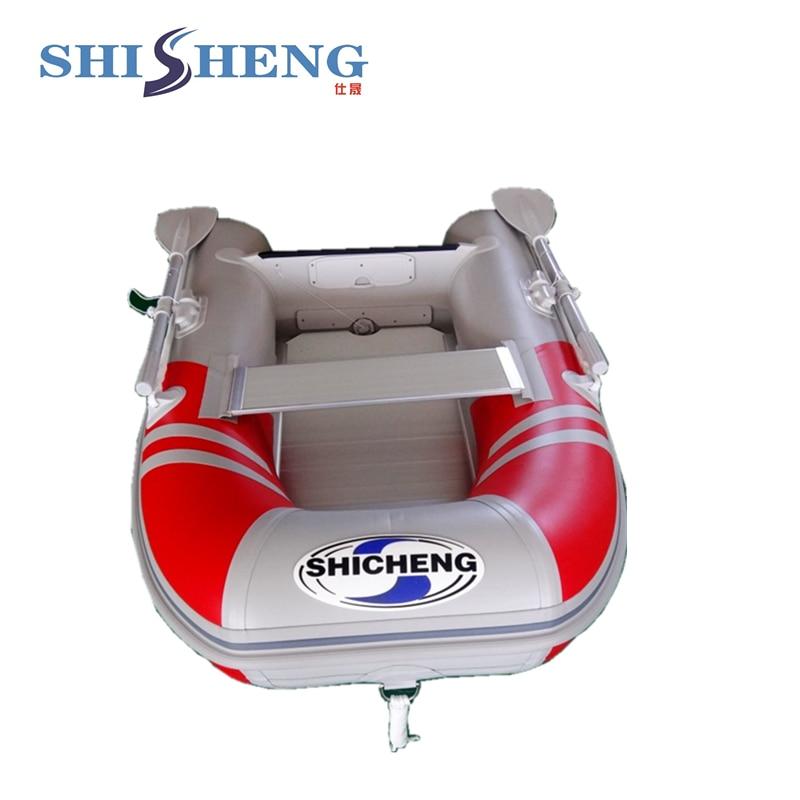 2018 petit bateau de pêche chinois/bateau gonflable en pvc pour une personne - 6