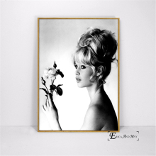 Brigitte Bardot Classic Photography Canvas Prints Modern Painting Posters Wall Art Pictures For Living Room Decoration No Frame