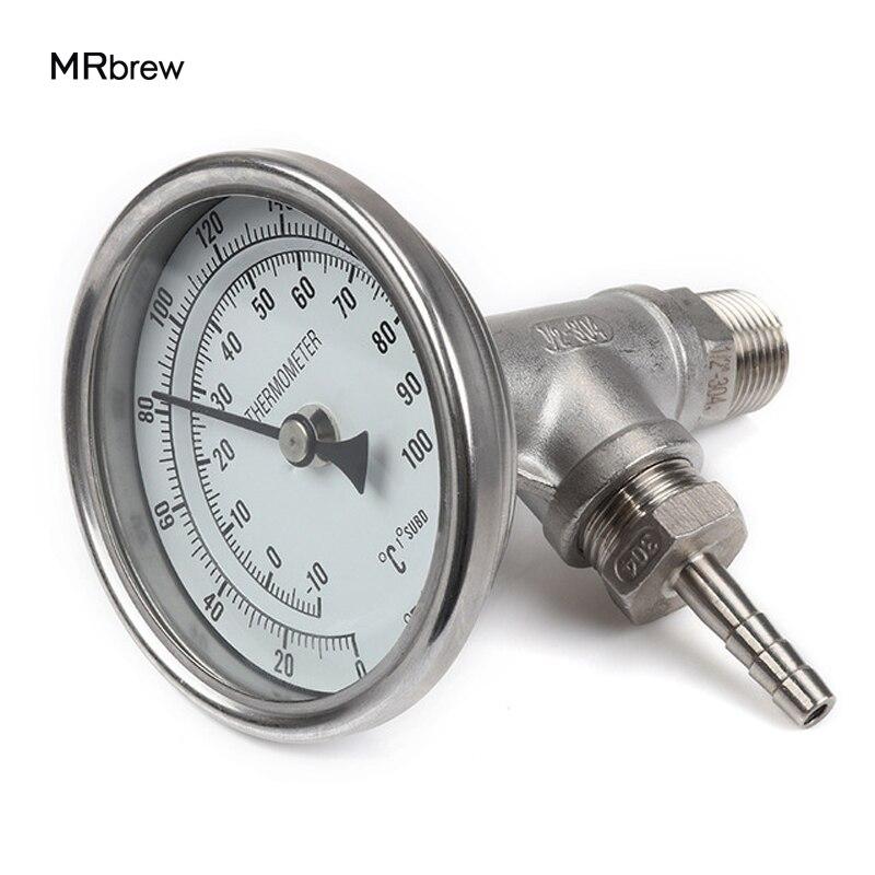 In-linie Thermometer Monitor, Brauen Platte Chiller Monitor, 1/2