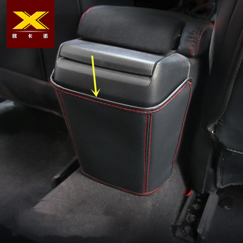 PU Leather Car Rear Seat Armrest Box Anti-kick Pad For Honda New Civic 10th Gen 2016 2017 2018 Car Styling Interior Accessories