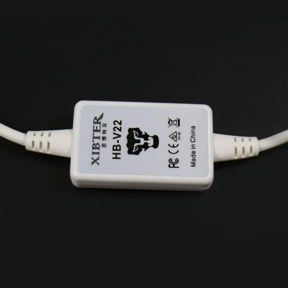 Xibter Stereo Gaming kõrvaklapid koos mikrofoniga Sinine LED valgus - Kaasaskantav audio ja video - Foto 3