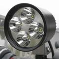 4 Кри чип 12 Вт вспомогательный свет Мотоцикл Мотоцикл светодиодные Лампы Spotight ПРИВЕЛО Вождение Противотуманные Фары Пятна Головного Света Лампы