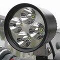 4 viruta Del Cree 12 W auxiliar llevó la luz Moto de La Motocicleta Faros led Spotight Lámpara LED Conducción de la Niebla Head Light Lugar
