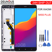 New LCD display for xiaomi MI5S plus 5.7 inch touch screen Digitizer assembly Button Light Frame with Free Tools
