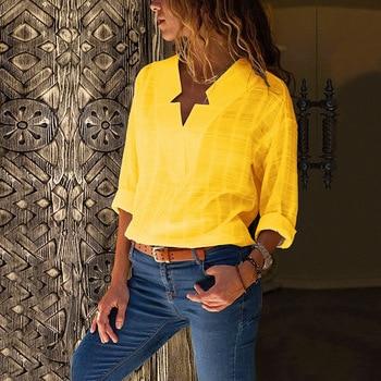 Women's X-neck V-Neck Shirt