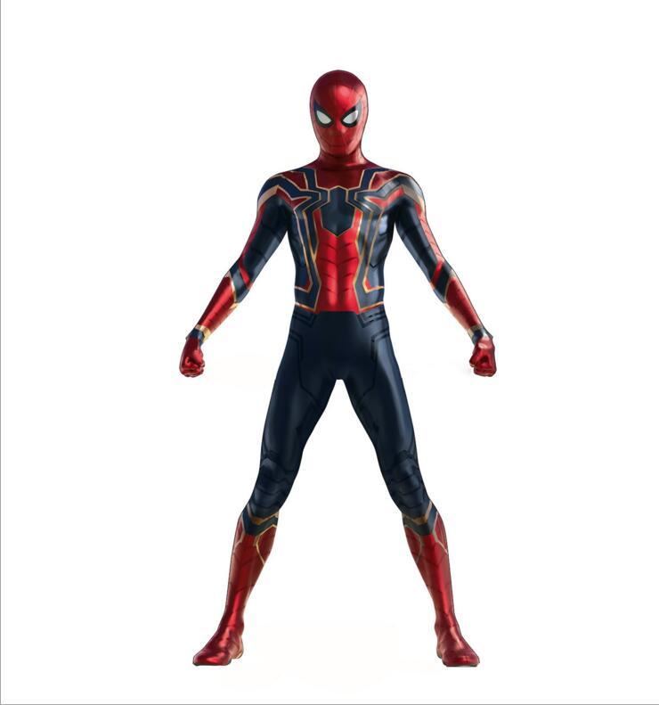Adult Kid Iron Spiderman Costume Spiderman Homecoming