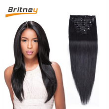 Brazilian Clip In Human Hair Extensions For Women African American Clip In Human Hair Extensions Brazilian Human Hair Clip In