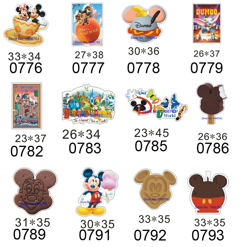 Free Shipping  10pcs/lot 31X32MM Cartoon Planar Resin