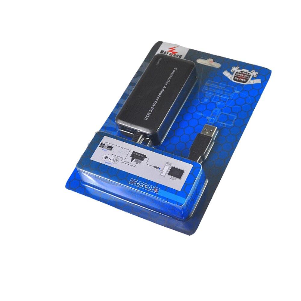 Turbo para S-n-e-s S-f-c e para N-e-s Controlador para Ps3 Usb com Função Usado em para Ps3 Adapter Controladores Console – pc F-c