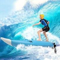 צעצועי קיץ סירה במהירות גבוהה גדול RC הגולש גלשן חשמלי דגם ספינת סירות מירוץ שליטת רדיו לילדים בריכה מים לשחק
