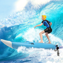 Great Wall 2310 4CH High Speed large RC Surf Boat Surfer Surfboard Electric Remote Control Boats Ship Model Toy  As Gift