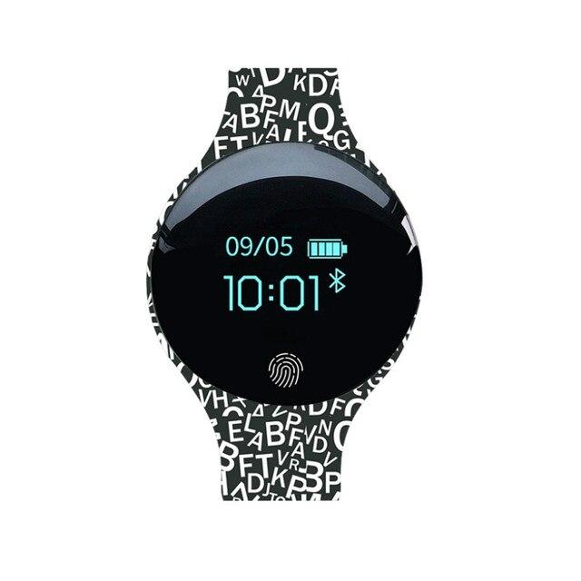 Fitness Tracker inteligentna bransoletka nadgarstek bluetooth passometer wiadomość przypomnienie o połączeniu kompatybilny dla android ios PkMi pasek