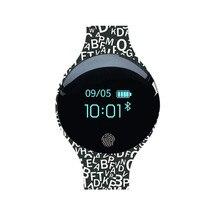 Fitness Tracker สร้อยข้อมือสมาร์ทสายรัดข้อมือบลูทูธ passometer message call reminder สำหรับ android ios PkMi band