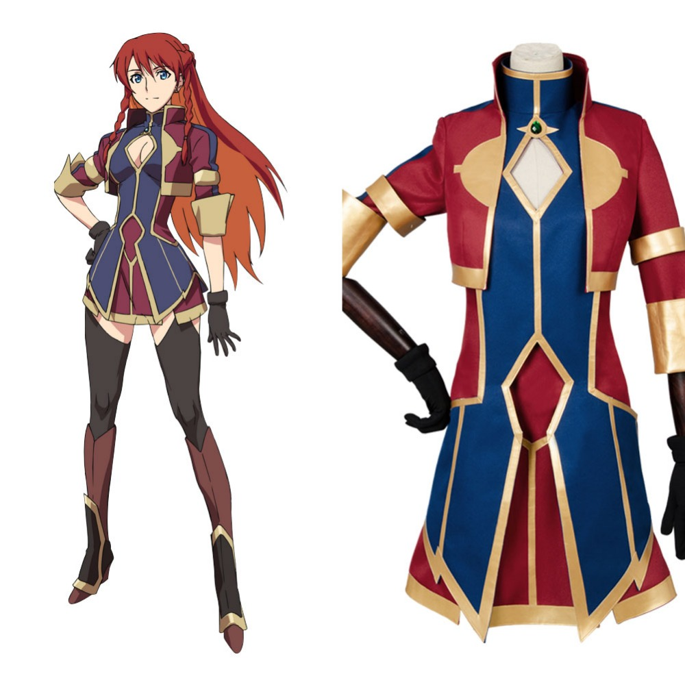 New Animae Re:Creators Cosplay Costume Yupitilia Selestia Celestia Cosplay Costume Halloween Full Set Outfit Dress Costumes