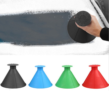 Big Size Remover Magic Shovel Cone Shaped Outdoor Winter Car Tool Snow Windshield Funnel Ice Scraper DY315