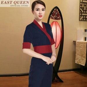 Image 4 - Uniforme para masaje uniformes de camarera, matorrales, salón de spa, conjuntos de belleza para enfermera, esteticista, uniforme para masaje tailandés s FF617 A