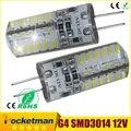 1 Pcs G4 Lâmpada LED DC 12 V/AC 220 V 110 V SMD 3014 1 W 3 W 5 W 6 W 7 W Substituir 30 W/60 W Lâmpada Halógena de 360 Ângulo de Feixe LED Lampada Bulbo