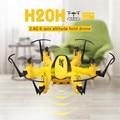 JJRC H20H Mini RC Quadcopter 2.4G 4CH 6-Axis Gyro Modo Headless NOV7 Helicóptero de Controle Remoto Inteligente