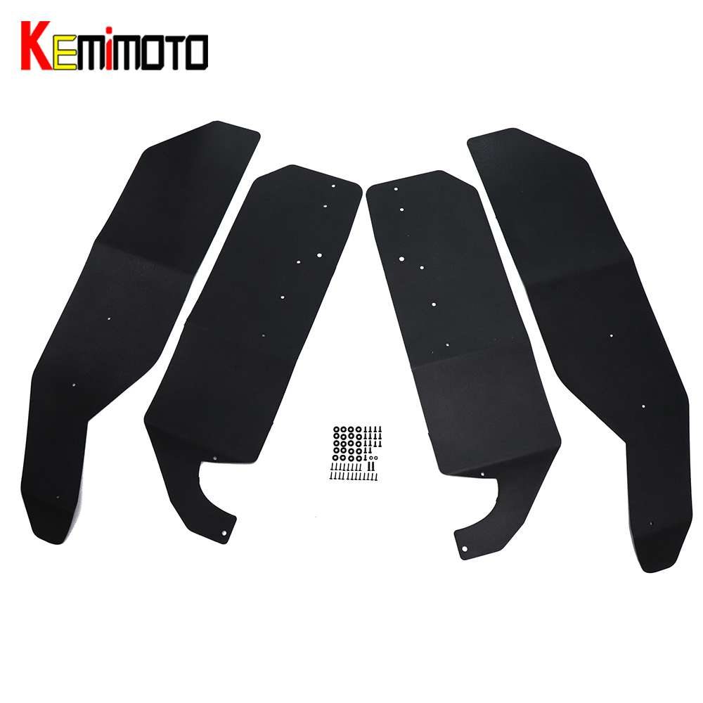 KEMiMOTO for CAN AM UTV Fender Flares Mud Flaps Set for CAN-AM Maverick 1000 Max 1000R X3 Max X3 Max R for Can-Am Maverick X3 R fender am spec tele rw sgm