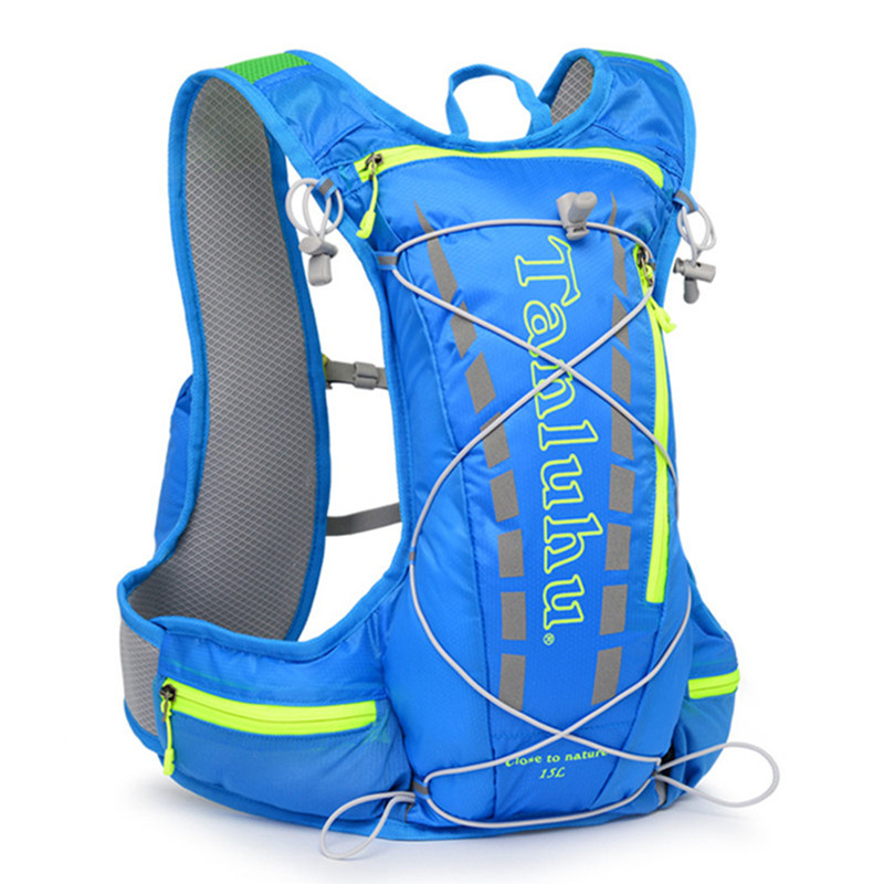 Outdoor Sport Bag Camping Backpack Trail Racing Vest Pack Hiking Running Bag Water Hydration Backpack+2L Waterbag(Optional) жилеты tsurpal жилет