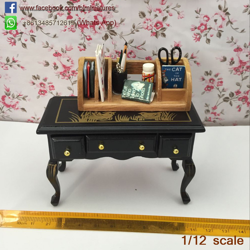 1/12 Scale Miniature Classical Writing Table Drawing Desk Model Antique  Dollhouse Furniture Art & Collectibles-in Furniture Toys from Toys &  Hobbies on ... - 1/12 Scale Miniature Classical Writing Table Drawing Desk Model