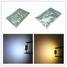 10-1000Pcs LED COB Lamp Chip 1W 3W 3.2-3.6V White Warm white Bulb Diode SMD For DIY Floodlight Spotlight Downlight