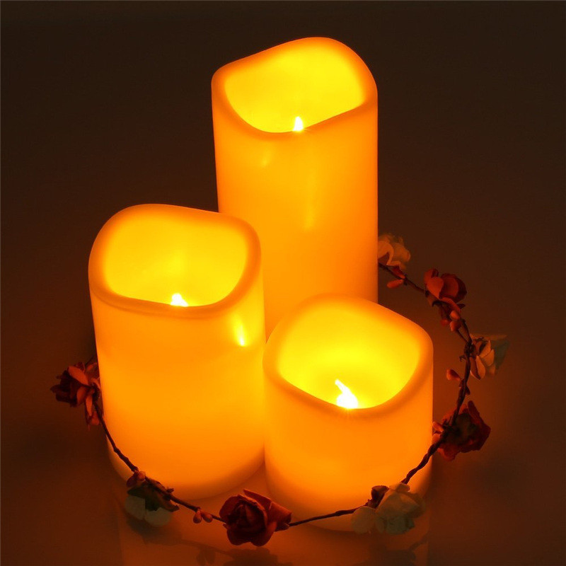 Flameless Candle Lights  (2)