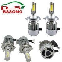 LED Car Headlight H7 H8 H11 HB3 9005 HB4 9006 H1 Car Lighting 72W 7600lm Automobile