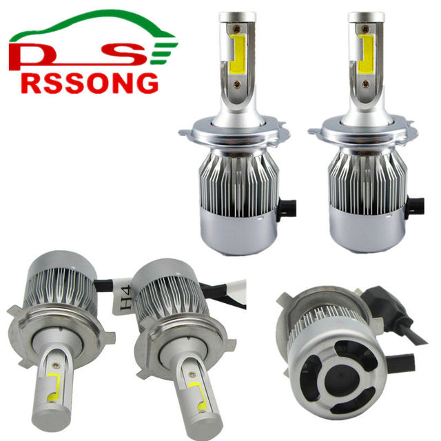 LED Auto Koplamp H7 H8/H11 HB3/9005 HB4/9006 H1 Auto Verlichting 72 ...