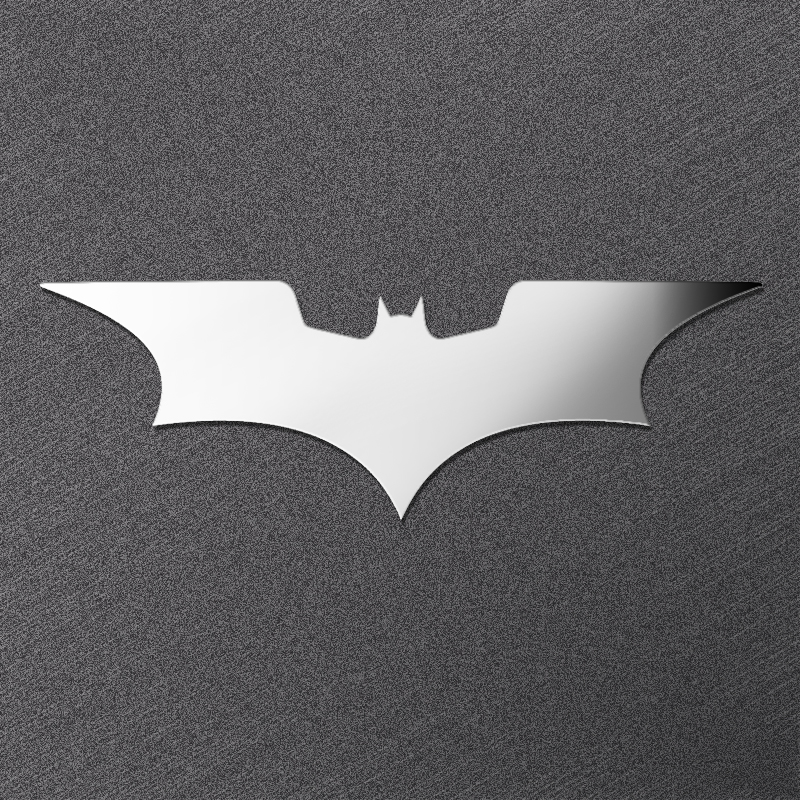Batman Sticker Luxury Mobile Phone Laptop DIY Sticker Car Motorcycle Decal 3D Metal Stickers Kids Gift