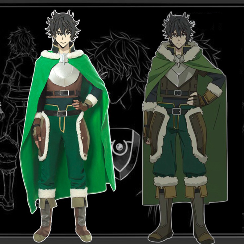 Anime The Rising Of The Shield Hero Cosplay Costumes Naofumi Iwatani Cosplay Costume Halloween Party Tate No Yuusha No Nariagari