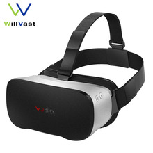 Original Vr Sky CX-3 VR Headset Allwinner H8VR Octa Core 5.5 Inch 1080P FHD Display 3D Glasses Virtual Reality Goggles