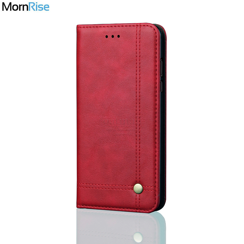 New Vintage Leather Flip Cover For XiaoMi RedMI Note 5 Pro Wallet Luxury Card Pocket Stand Magnet Book Cover Casual Phone Cases