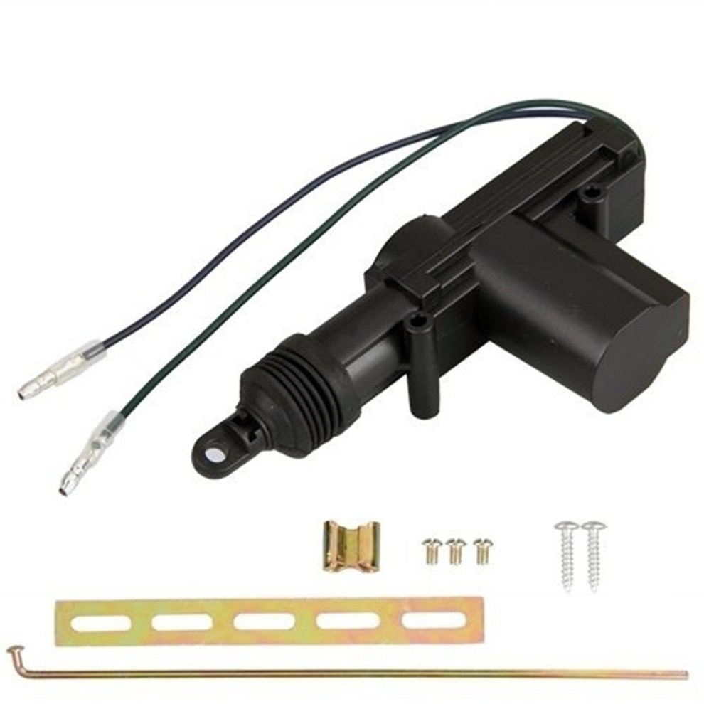 Universal Heavy Duty Power Door Lock Actuator Motor 2 Wire 12V Car Locking System Actuator Single Gun Type Kit