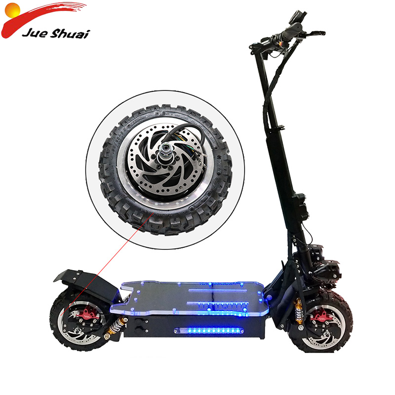 60V 1600W Electric Scooter Motor Off Road/Road Tire Electrico Motor Hub Engine Wheel Hoverboad Skateboard Accessories E Scooter