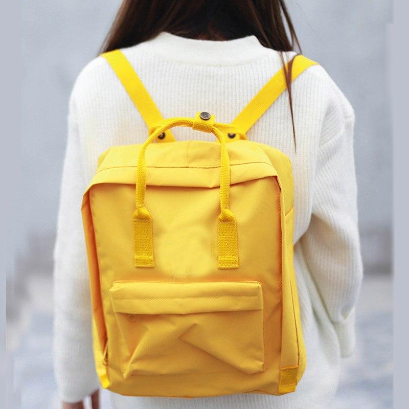 Fashion promotion Men women waterproof backpack Mochila Feminina Mini Classic Big Backpack with tag Fox Backpacks