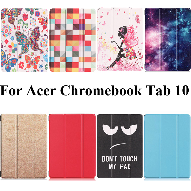 For Acer Chromebook Tab 10 Case Stand Cover Shell Skin For Acer ChromebookTab 10 With Color