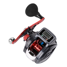free shipping electronic rti 999 9m fishing line counter abs plastic digital display depth finder reel meter gauge fishing tool High-performance fishing reel digital display lead ice fishing reel high-performance rotary bait casting fishing wheel free sale