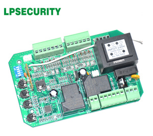 Image 3 - Scheda elettronica di bordo circuito di controllo del motore del cancello per cancello scorrevole apri funzione di soft start modalità pedonale 110V o 220V