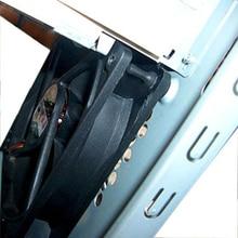 32 шт. резиновый антивибрационный крепежный винт с заклепками для PC чехол для вентиляторов антивибрационные винты силиконовые шурупы