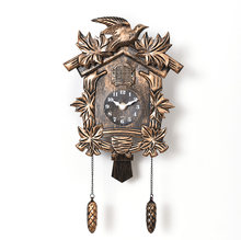 Cuckoo Clock Living Room Wall Clock Bird Cuckoo Alarm Clock Watch Modern Brief Children Unicorn Decorations Home Day Time Alarm2(China)