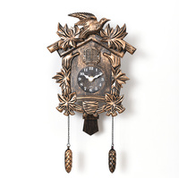 Cuckoo Clock Living Room Wall Clock Bird Cuckoo Alarm Clock Watch Modern Brief Children Unicorn Decorations Home Day Time Alarm2