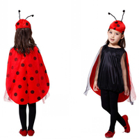 New Arrival Halloween Costume For Kids Anime Cosplay Costume Children Ladybug Insects Party Performance Clothing