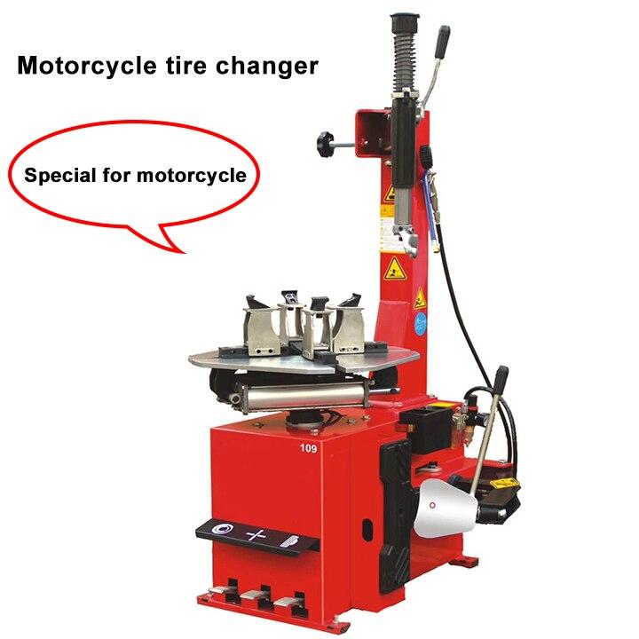 Changeur de pneus de moto semi-automatique Machine de réparation de pneus spécifique pour moteur